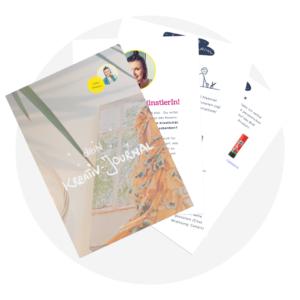 Freebie-Kreativ-Journal
